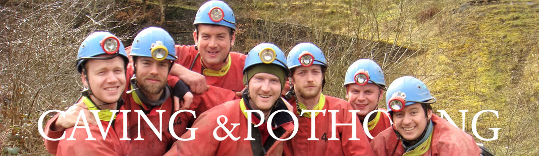 caving in Monmouthshire