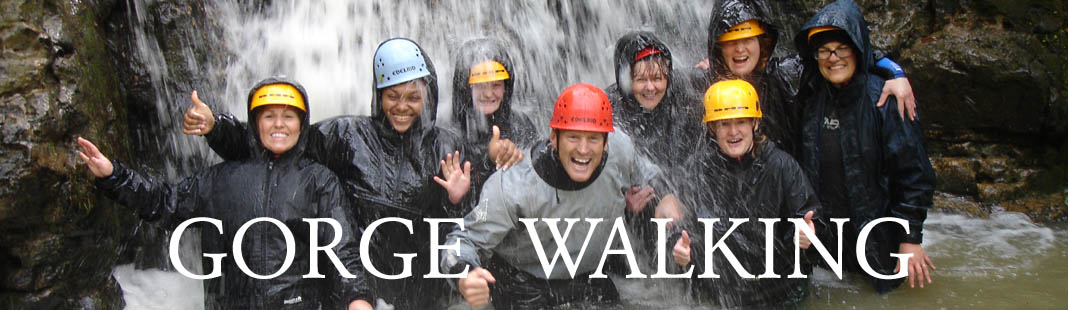 Gorge Walking in Monmouthshire
