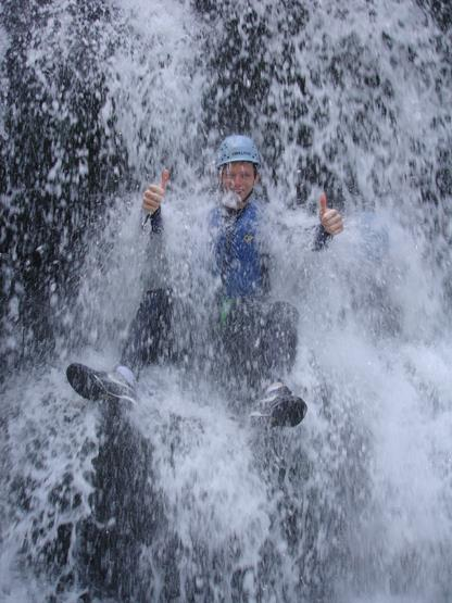 Outdoor Activities - Gorge Walking in Wales - Stag Party Gorge Walking in the Brecon Beacons