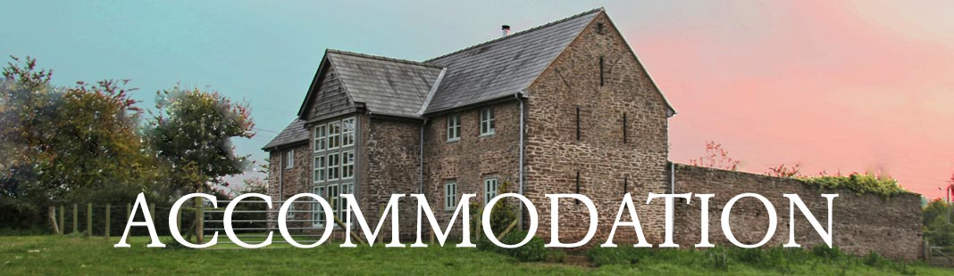 Group accommodation and bunkhouse accommodation in Monmouthshire