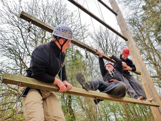 Corporate Events - High Ropes, Team Building in  Gloucestershire
