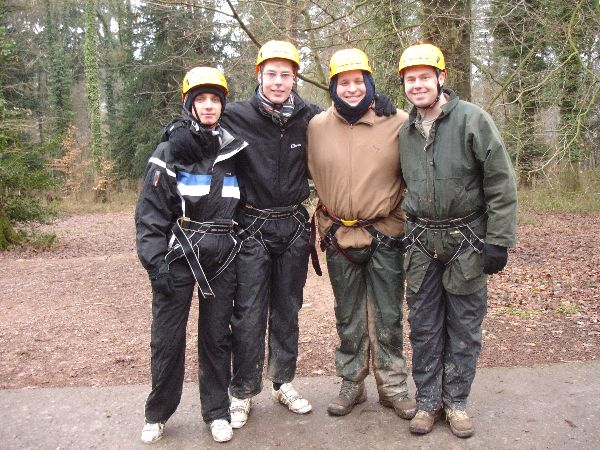 Company Events - IT Team Rock Climbing in Monmouthshire