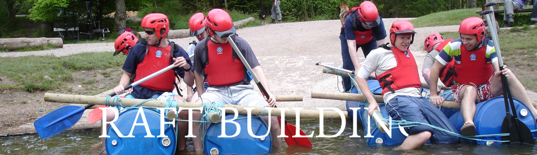 Raft Building in Herefordshire