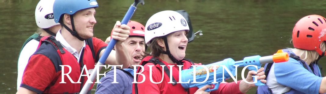 Raft Building in Wales