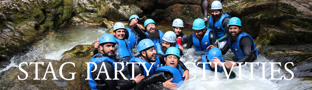 Stag Party Activities in Wales
