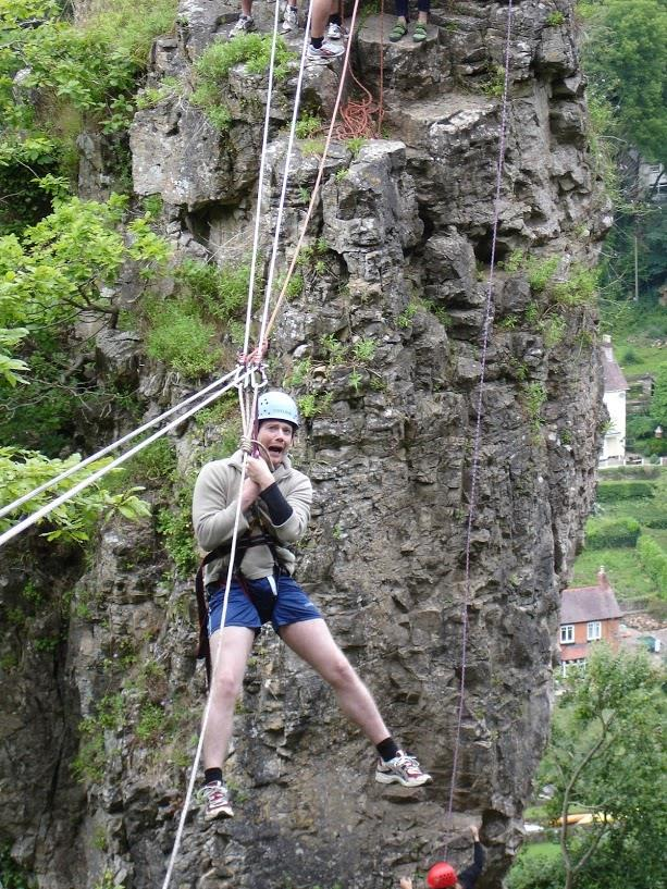 Stag Party - Climbing and Zip Wire in Wales