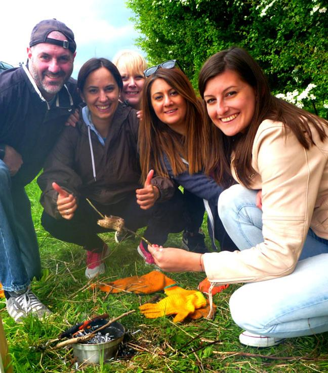 Corporate Events - Survival Challenge, Team Building in  Gloucestershire