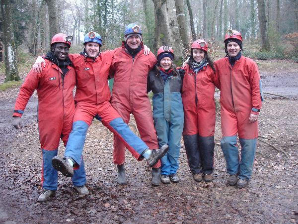 Team Building - Caving in Wales