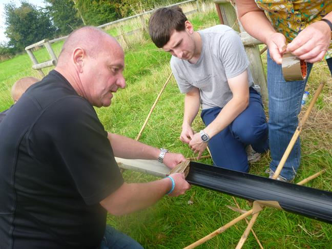 Team Challenge with a Corporate Group in Wales