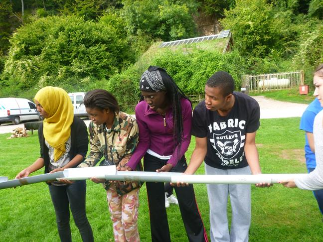 Outdoor Activities - Team Challenge in Gloucestershire - Mixed group in the Forest of Dean